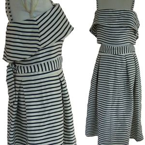 BB Dakota Grace Stripe 2-Piece Dress, Size 8